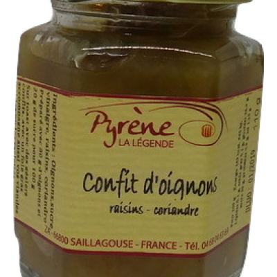 Confit d'Oignons (raisin - coriandre)