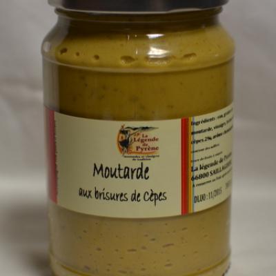 Moutarde aux brisures de cèpes