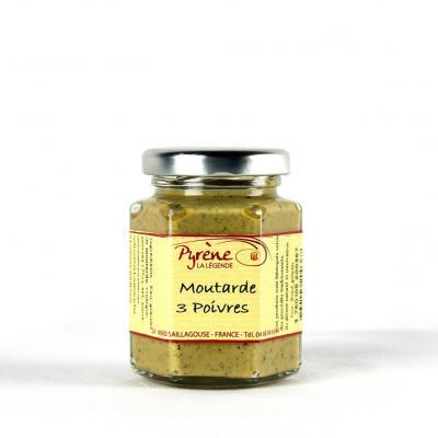 Moutarde aux 3 poivres