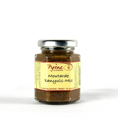 Moutarde Banyuls- miel