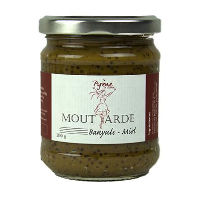 Moutarde Banyuls-Miel