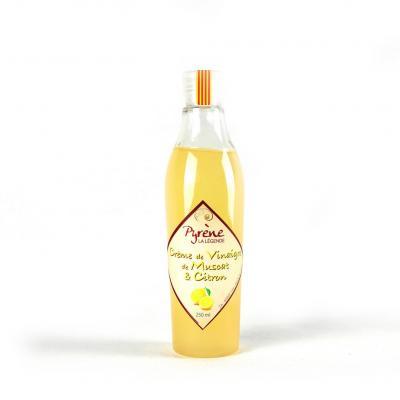 Crème de vinaigre au Muscat et citron