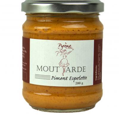 Moutarde Piment d'Espelette