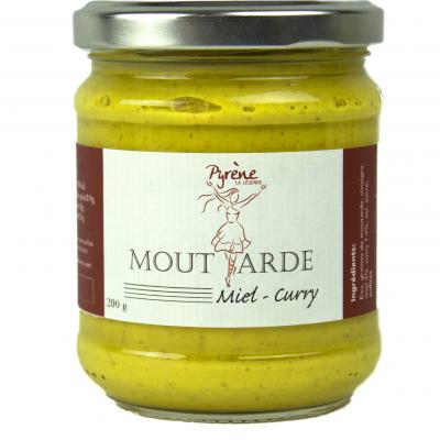 Moutarde miel - curry
