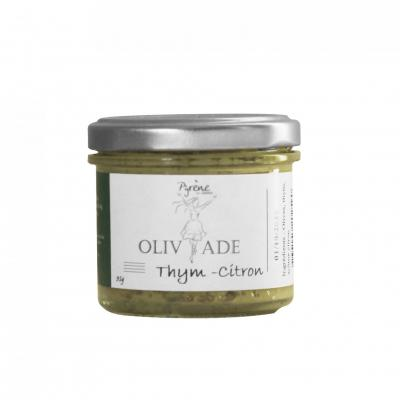 Olivades verte  thym - citron