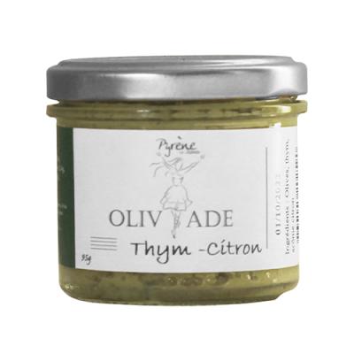 Olivade Verte  Thym-Citron